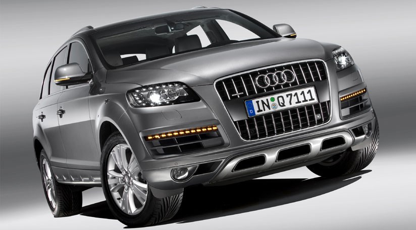 audi q7 facelift 2009 first official photos by car magazine. Black Bedroom Furniture Sets. Home Design Ideas
