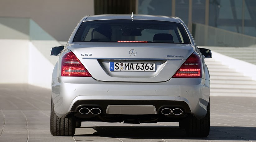 Mercedes S63 Amg Facelift 2009 First Photos S65