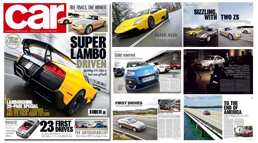 new june 2009 issue of car magazine