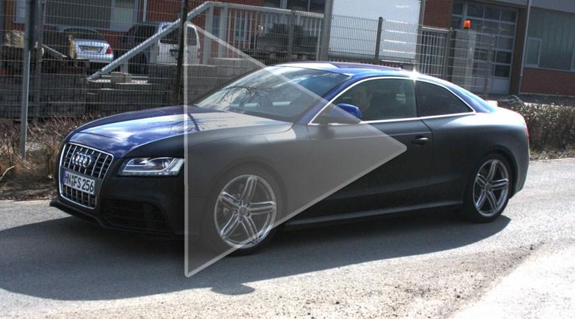 Audi S Twin Turbo V8 Rs5