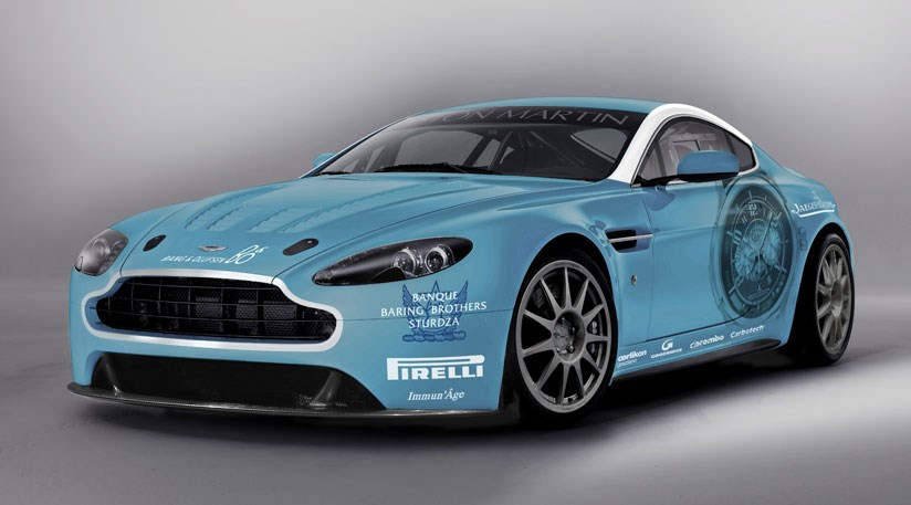 Aston Martin V12 Vantage Race Car