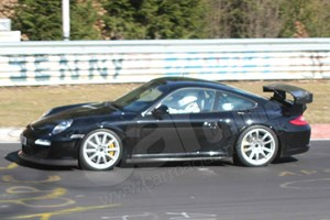 Porsche 911 2nd-gen 997 GT3 RS spy video