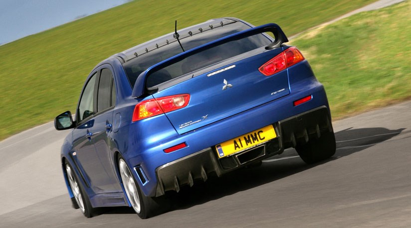 Mitsubishi Lancer Evo X FQ400 2009 review by CAR Magazine