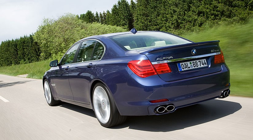BMW Alpina B7 (2009) review by CAR Magazine
