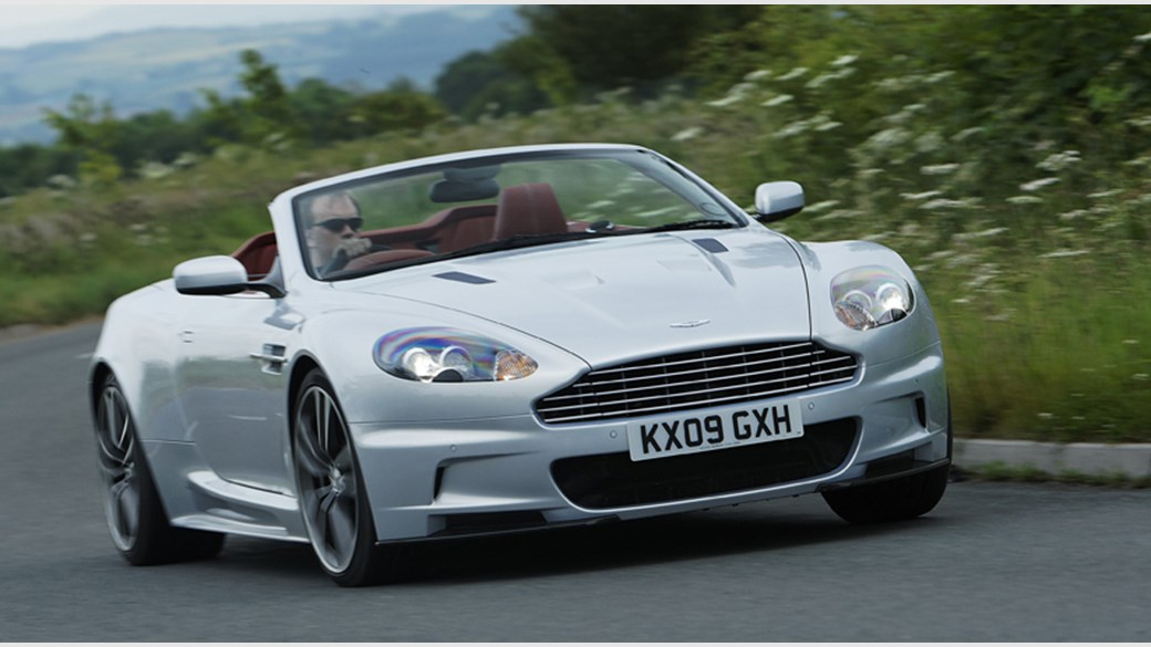 Aston Martin DBS Volante Review CAR Magazine - How many aston martin dbs were made