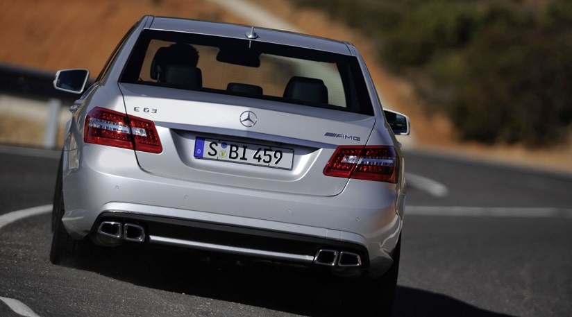 Mercedes E63 AMG (2009) review | CAR Magazine