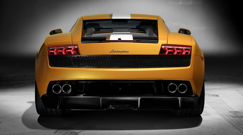 2010 Lamborghini Gallardo LP550-2 Valentino Balboni Rear View