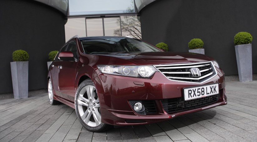 honda accord type s tourer 2009 review by car magazine. Black Bedroom Furniture Sets. Home Design Ideas