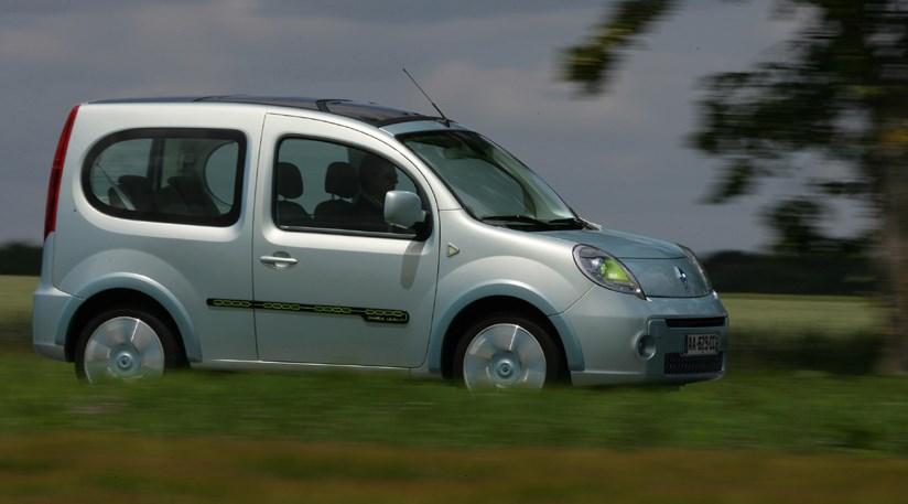 Renault Kangoo Be Bop Ze 2009 Electric Car Review Car Magazine