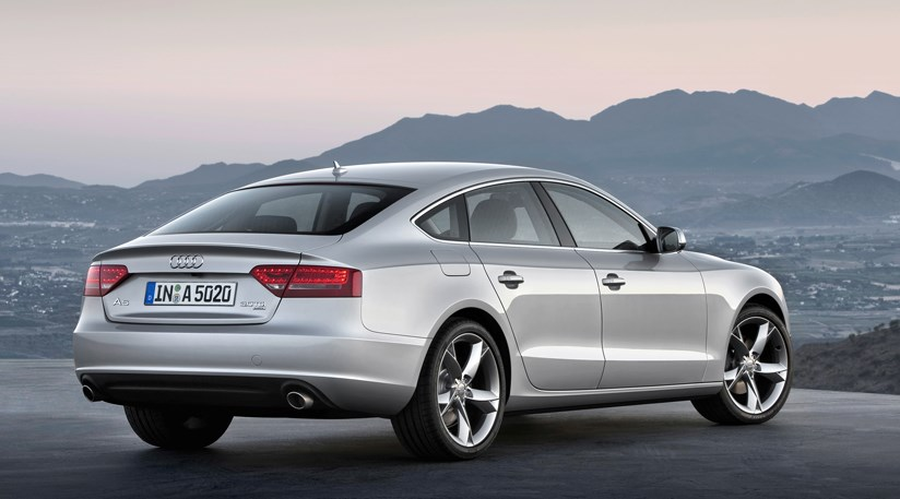 audi a5 sportback 2009 the first official photos car magazine. Black Bedroom Furniture Sets. Home Design Ideas