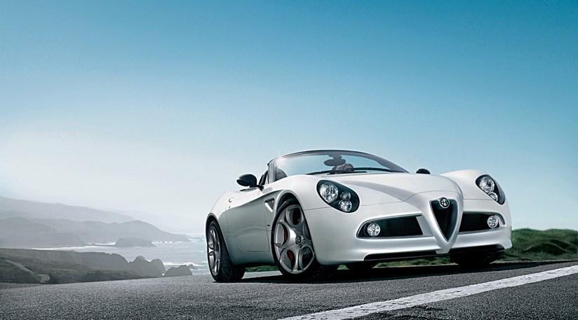 Самый дорогой Alfa Romeo 8C Spider