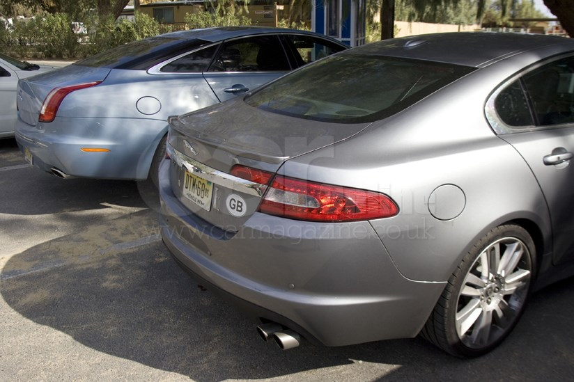 Very C Xf Concepty Jag Has Horizontal Rear Lamps New Xj Prefers More Vertical Lights It S The Most Radical Angle Of
