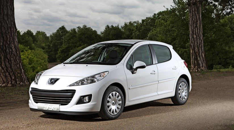 peugeot 207 economique 2009 first official photos by. Black Bedroom Furniture Sets. Home Design Ideas