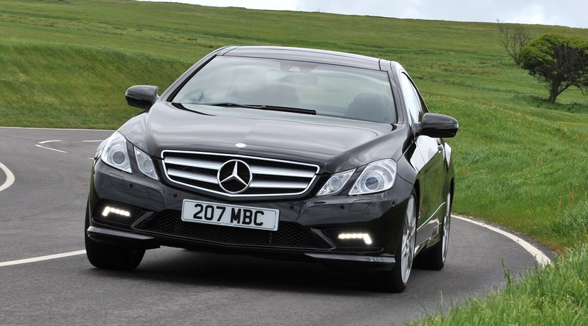 mercedes e500 coup 2009 review car magazine. Black Bedroom Furniture Sets. Home Design Ideas