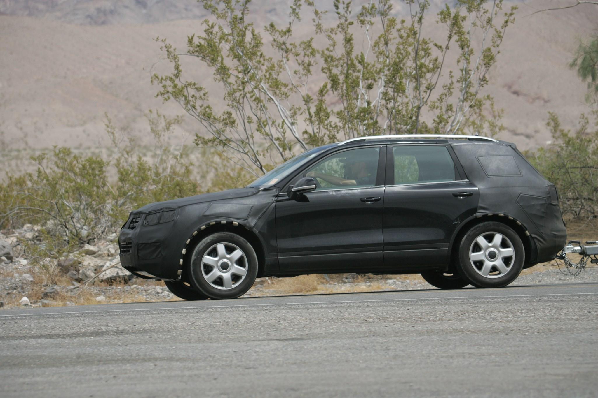 VW Touareg, VW Sharan, VW Phaeton