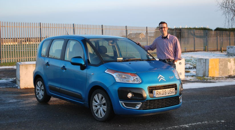 citroën c3 picasso 1 6 hdi long term test review car magazine c3 corvette electrical wiring keeper tim pollard gives the citroen c3 picasso the thumbs up