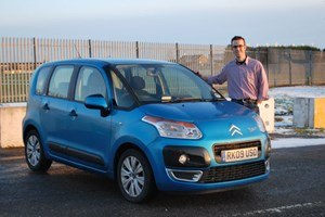 Keeper Tim Pollard gives the Citroen C3 Picasso the thumbs-up