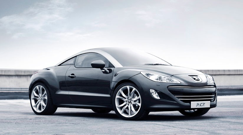 peugeot rcz coup 2009 first official pictures by car magazine. Black Bedroom Furniture Sets. Home Design Ideas