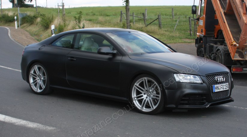 audi rs5 2010 due for launch in autumn 2009 car magazine. Black Bedroom Furniture Sets. Home Design Ideas
