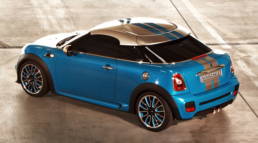 Mini Coup Concept Car Showroom Bound In 2011 Car Magazine