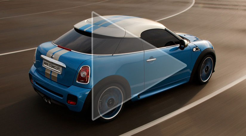 Mini Coup Concept car showroom bound in 2011 by CAR Magazine