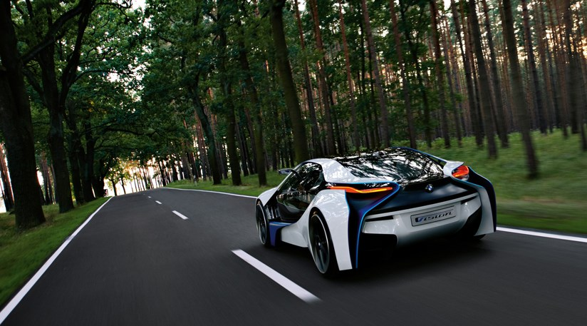 BMW Vision EfficientDynamics concept at 2009 Frankfurt motor show by ...