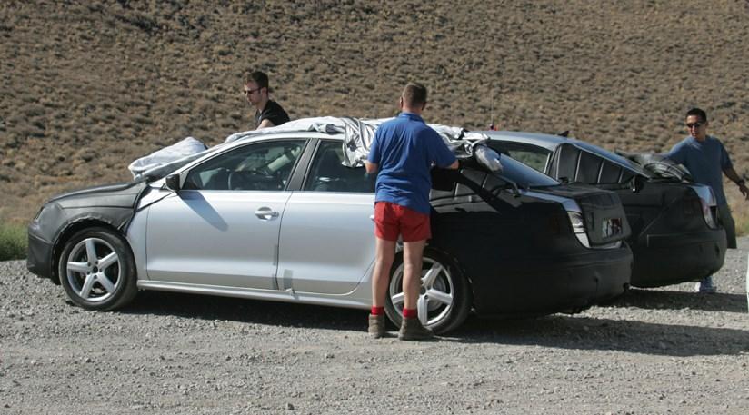 VW Jetta (2010) the new spy photos by CAR Magazine
