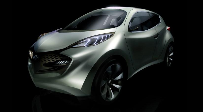 2009 Hyundai Ix Metro Concept. Hyundai ix-Metro, first hybrid