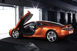 CAR's exclusively shot the McLaren MP4-12C. See the new November 2009 issue for the full photoshoot by Alex Howe