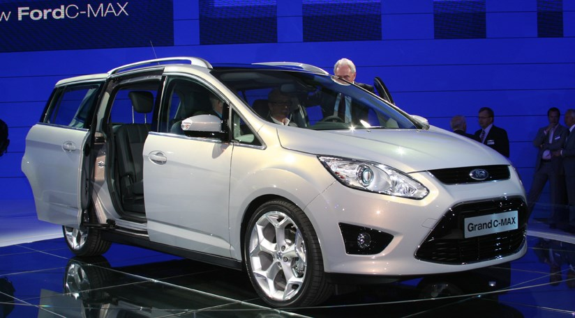 ford grand c max at 2009 frankfurt motor show by car magazine. Black Bedroom Furniture Sets. Home Design Ideas
