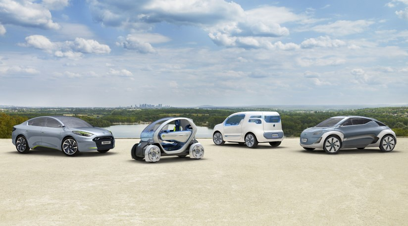 Renault Unveils Four Electric Concepts At 2009 Frankfurt Motor Show