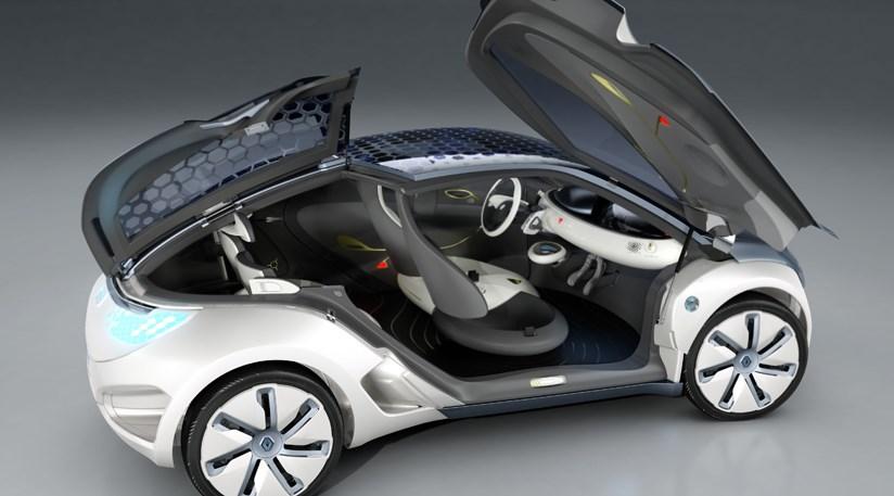 Renault Zoe ZE electric concept at 2009 Frankfurt motor show | CAR