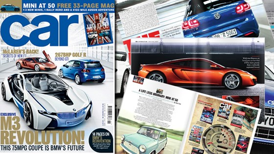 New November 2009 Issue Of Car Magazine Car Magazine