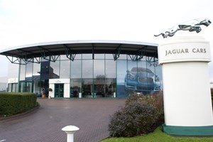 Jaguar facilities at Castle Bromwich