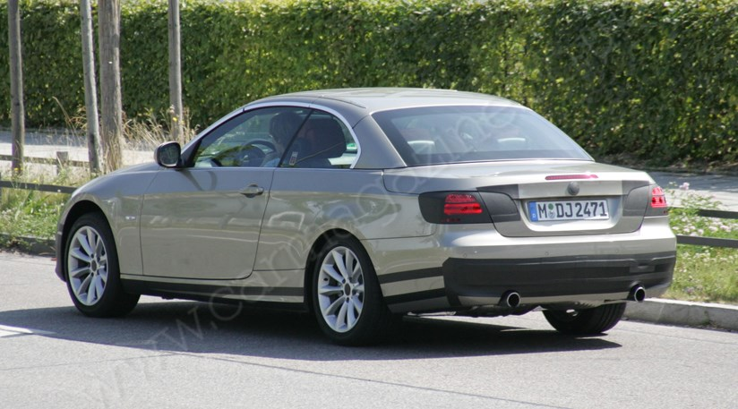 Bmw 3 Series Convertible 2010 Facelift Spied