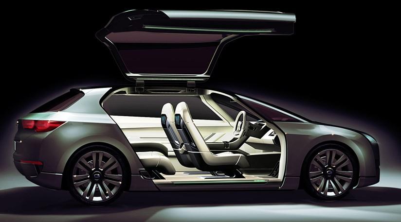 subaru hybrid tourer concept  2009  revealed car magazine