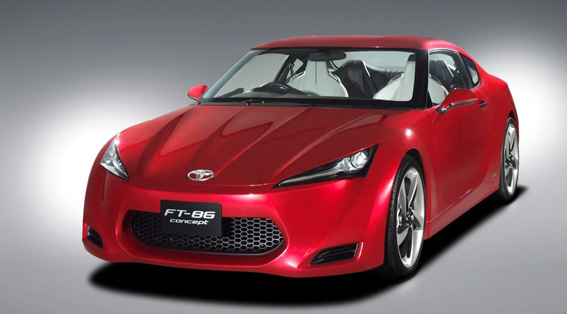 The Toyota FT 86 Is Due To Land In UK Showrooms In 2011 ...