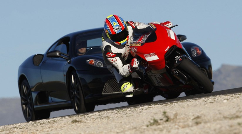 Which Is Faster Ferrari 430 Scuderia Vs Ducati Car Magazine
