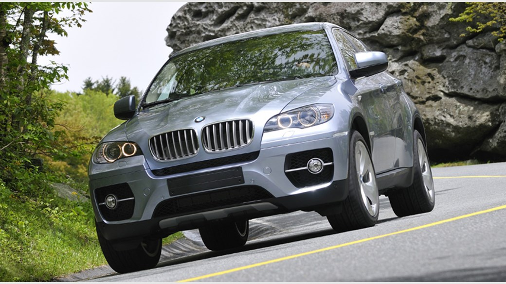 BMW X6 ActiveHybrid (2009) review by CAR Magazine