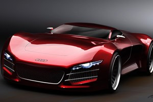 CAR reader designs Audi R10 supercar