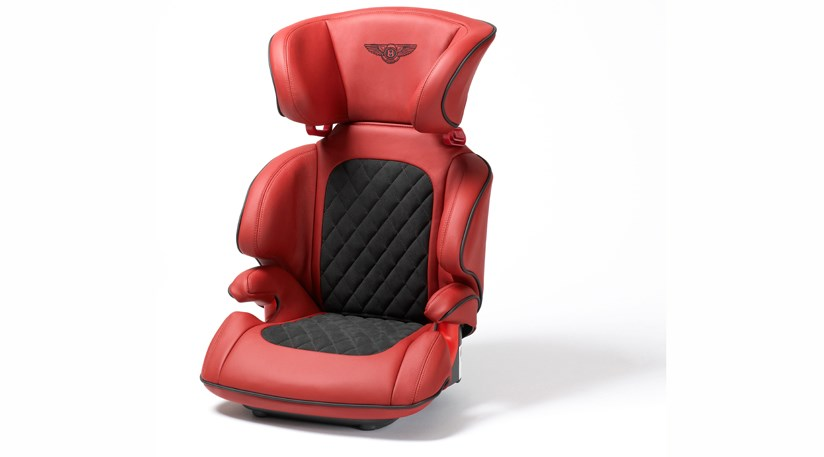 bentley 39 s posh leather child seat car magazine. Black Bedroom Furniture Sets. Home Design Ideas