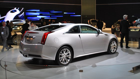 Cadillac Cts Coupe 2010 First Pictures Car Magazine