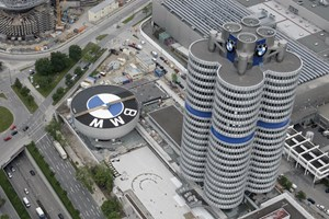 Where all those E numbers come from: BMW's Munich HQ