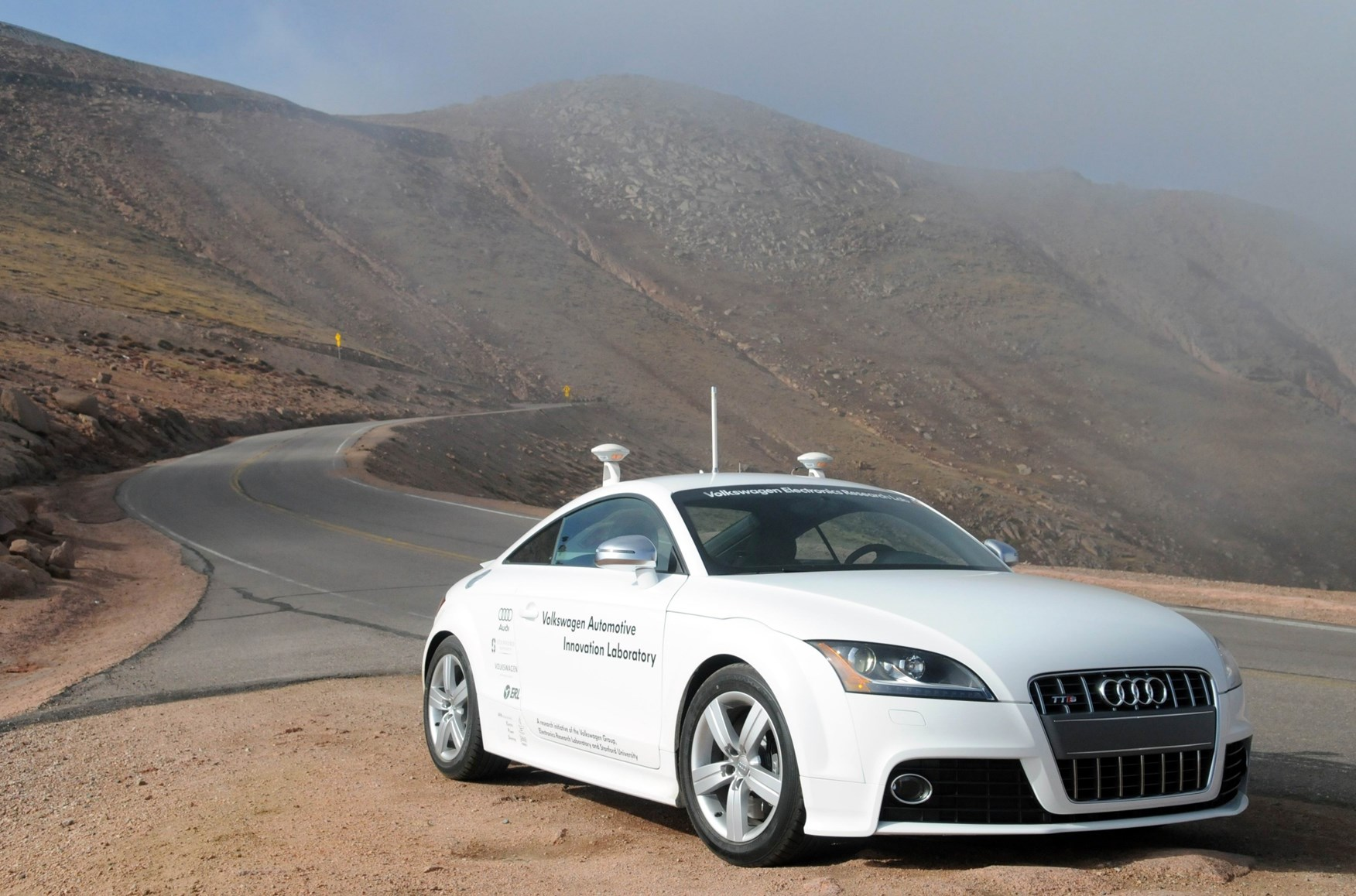 Why Driverless Audi At Pikes Peak Is Sinister By CAR Magazine - Aud audi