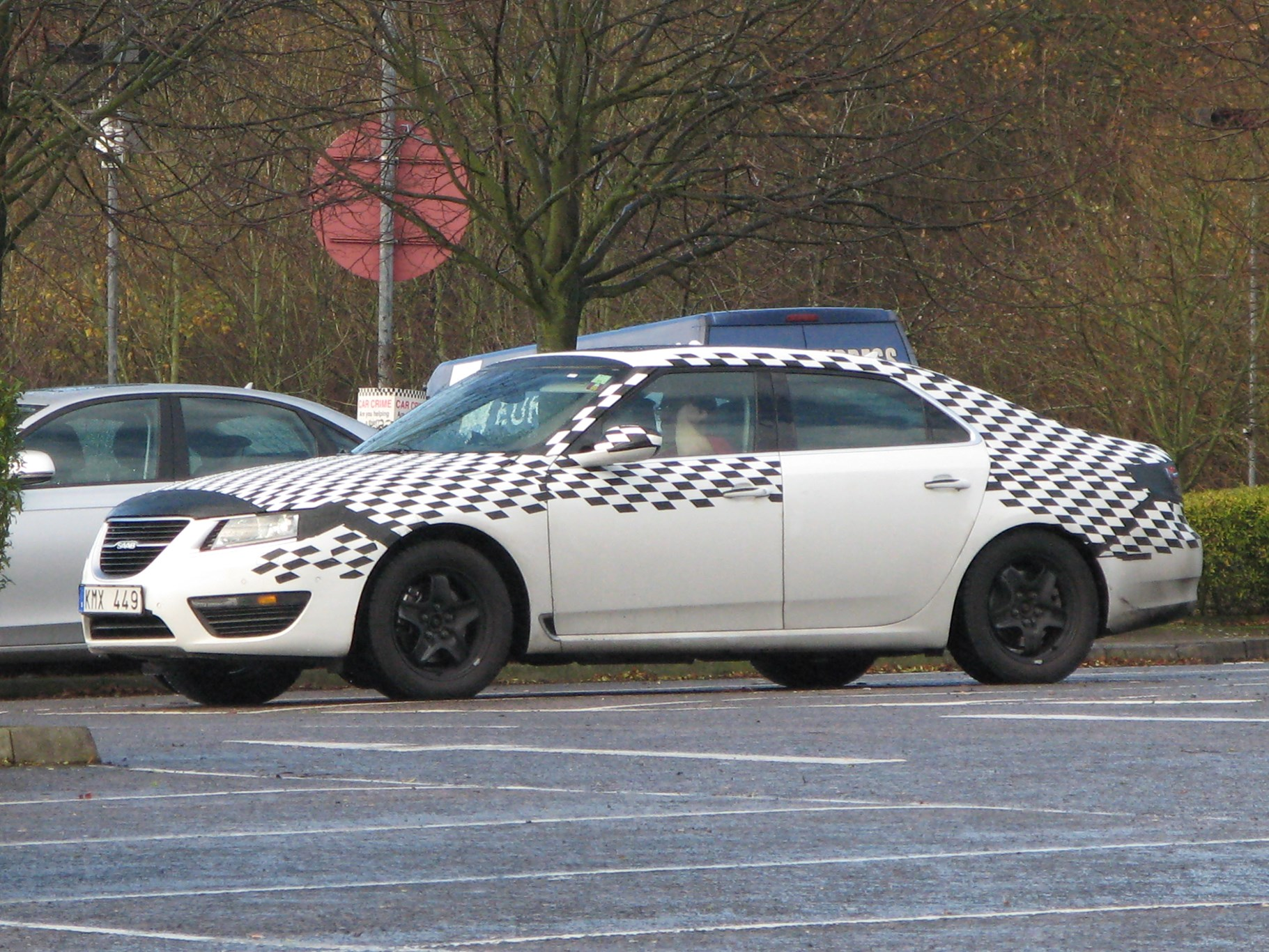 Saab 9 5 2010 Spotted Lapping The M25