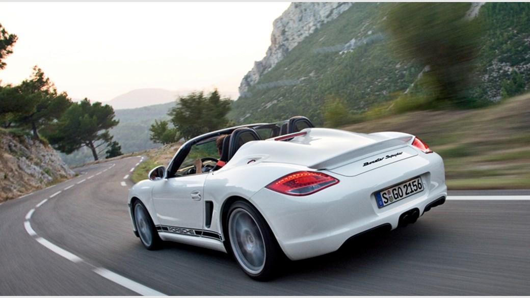 Porsche Boxster Spyder  First Drive