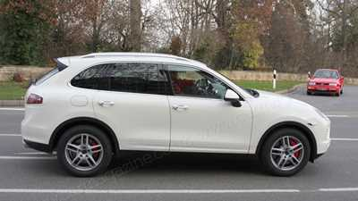 porsche cayenne coupe meet the hunkered down electric suv by car magazine. Black Bedroom Furniture Sets. Home Design Ideas