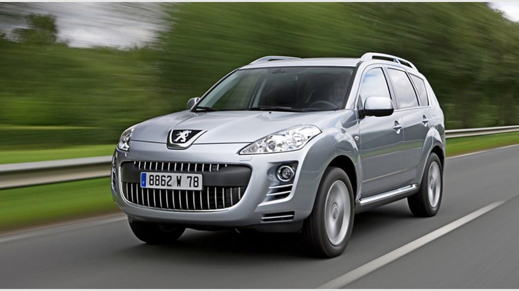 Peugeot 4007 DCS (2009) review | CAR Magazine