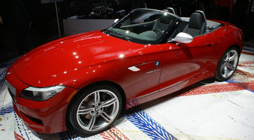 bmw z4 sdrive 35is 2009 at detroit motor show 2010 by car magazine. Black Bedroom Furniture Sets. Home Design Ideas