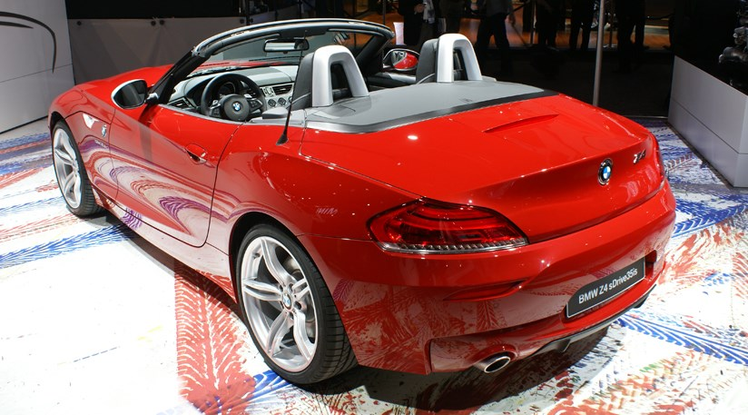 Bmw Z4 Sdrive 35is At Detroit Motor Show 2010